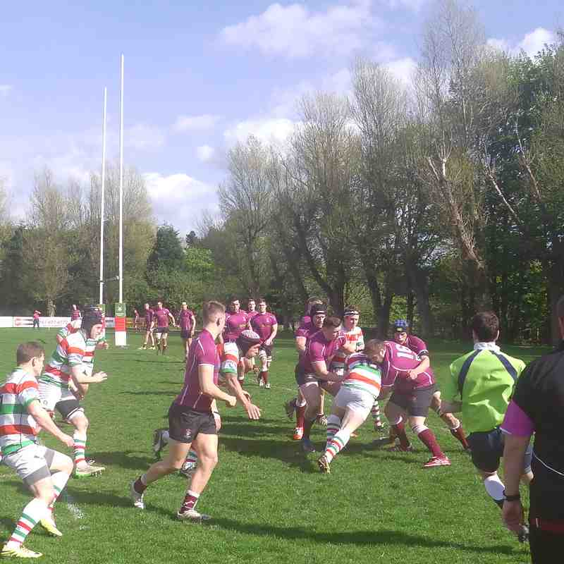 1st XV v Morley 22nd April 2017