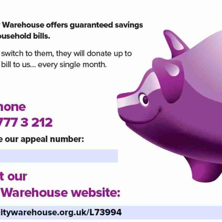 Utility Warehouse Community Fundraising Scheme