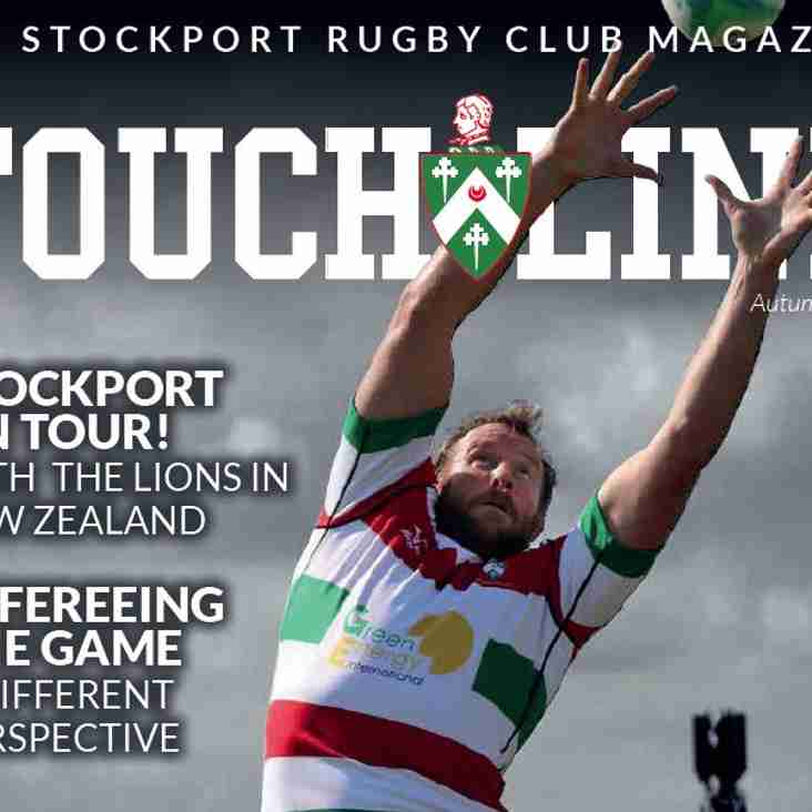 TOUCHLINE Magazine is now available online.