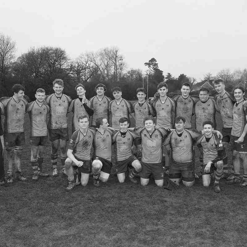 Colts v Redingensians 8th Jan 2017