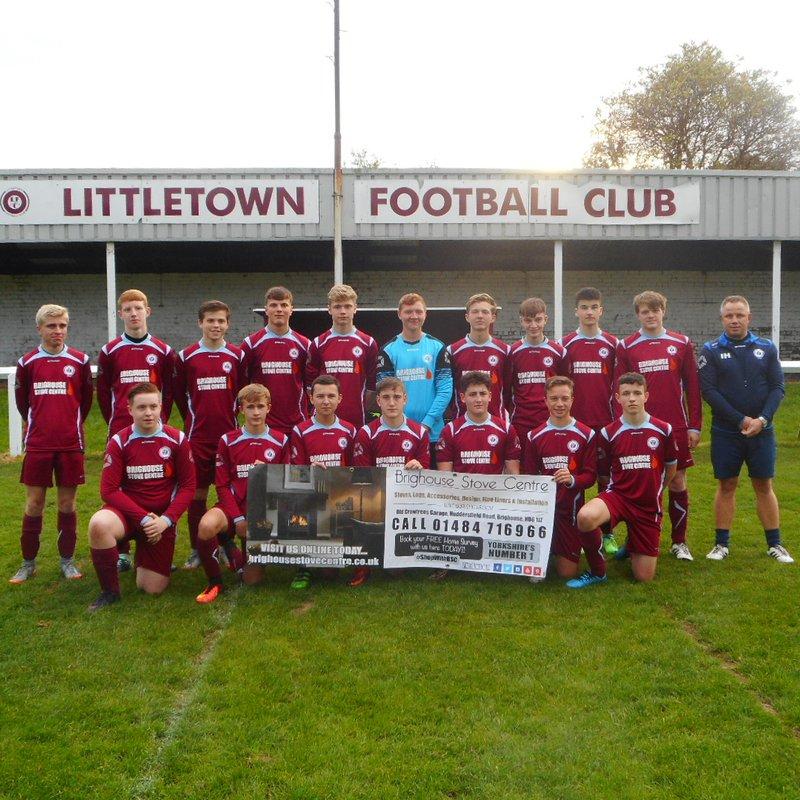 U16's Littletown 4-3 Skipton
