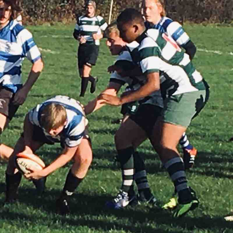 U16's v Wanstead 18 Nov 2018