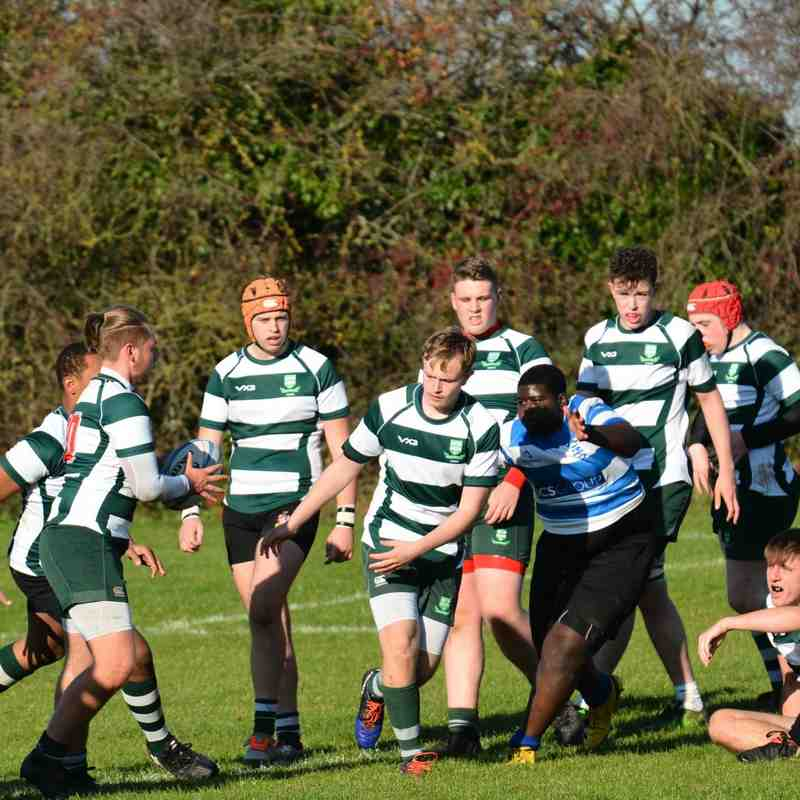 U18's v Wanstead 18 Nov 2018