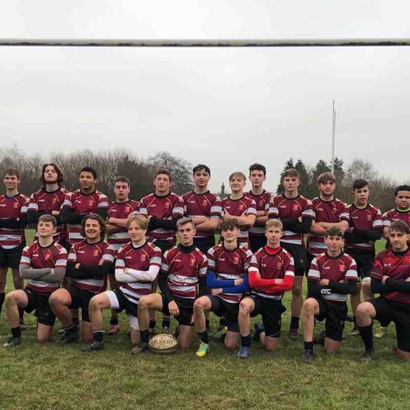 Basildon U16's representing Essex