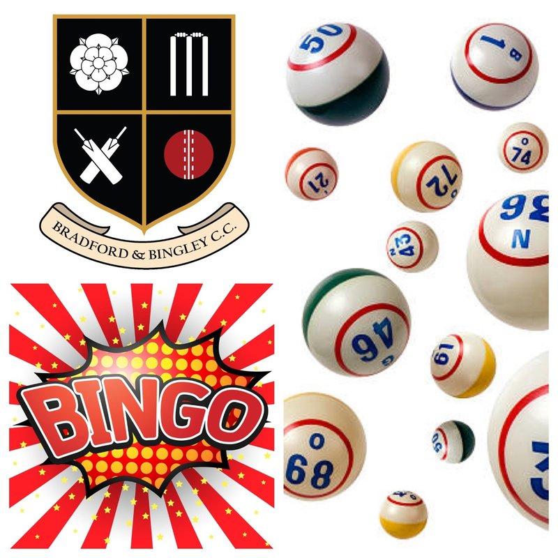 B&BCC Cricket Bingo 2018 - £100 1st Prize