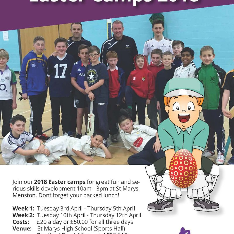 The Cricket School Easter Camp 2018