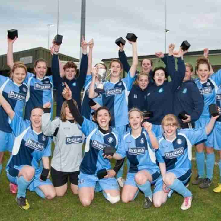 Wycombe Wanderers Ladies Win the Cup