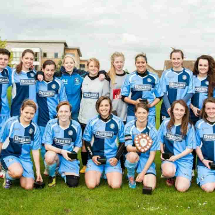 Bucks Free Press: Wanderers Ladies celebrate cup glory