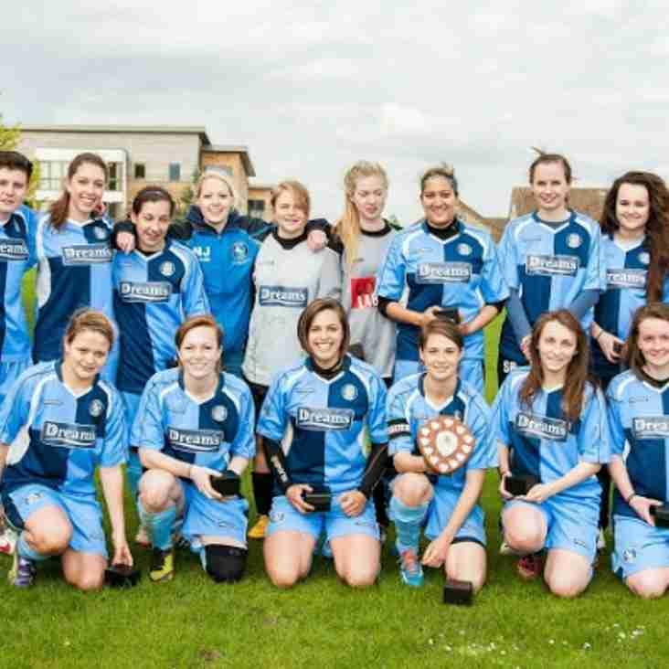 Bucks Free Press: Wanderers Ladies celebrate cup glory