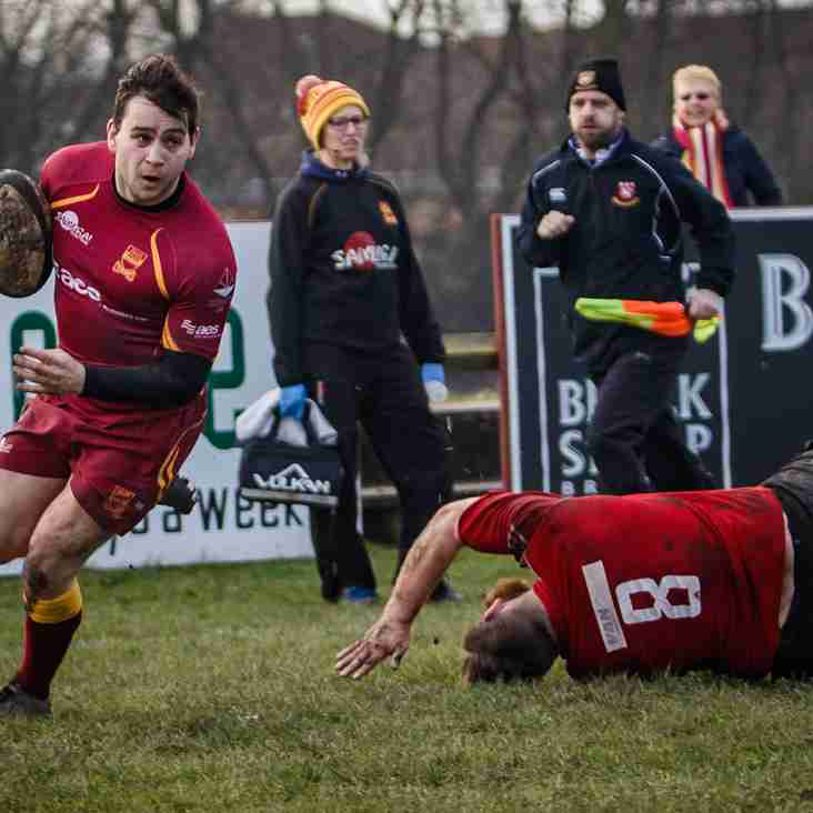 Photographs: 1XV v Cleckheaton - 28 January 2017
