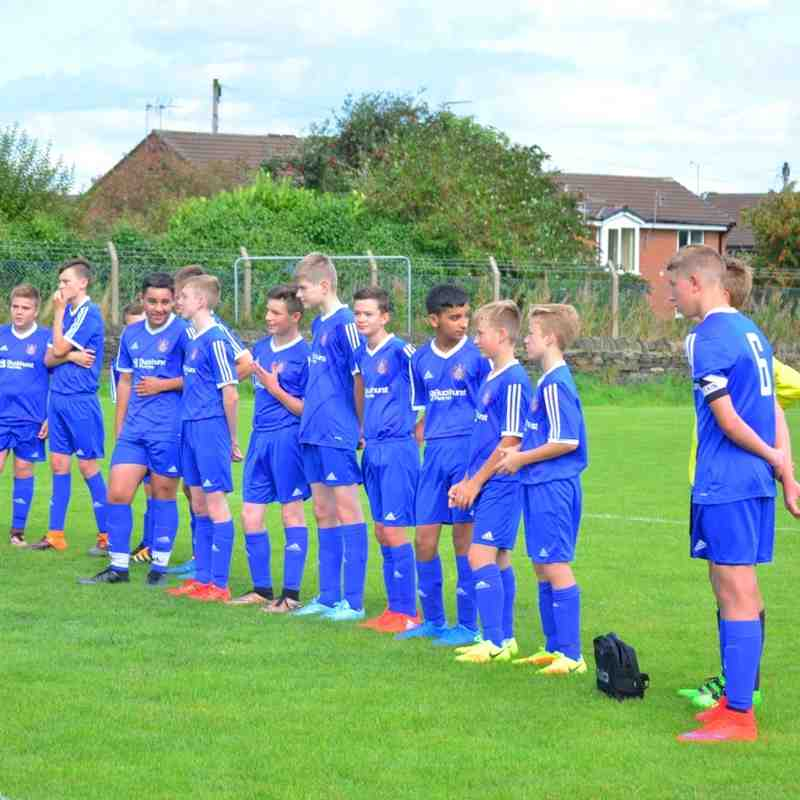 Farsley Celtic Under 15 v Leeds City Boys