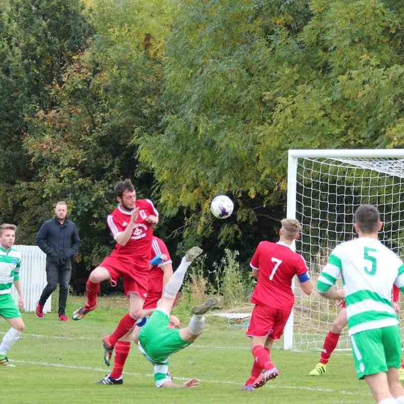 Mochdre FC v CPD Cemaes Bay FC (22/10/16)