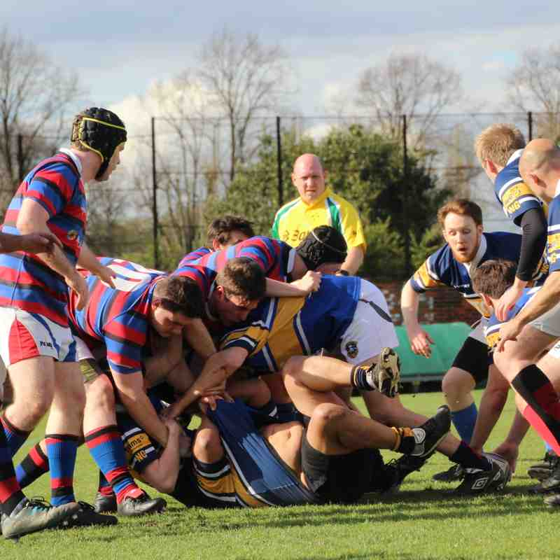 Wanderers vs Bec Old Boys 17
