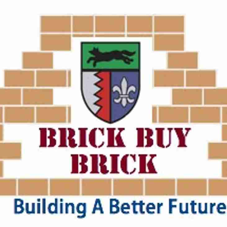 Hinckley RFC Launch The Brick Buy Brick Fundraising Scheme
