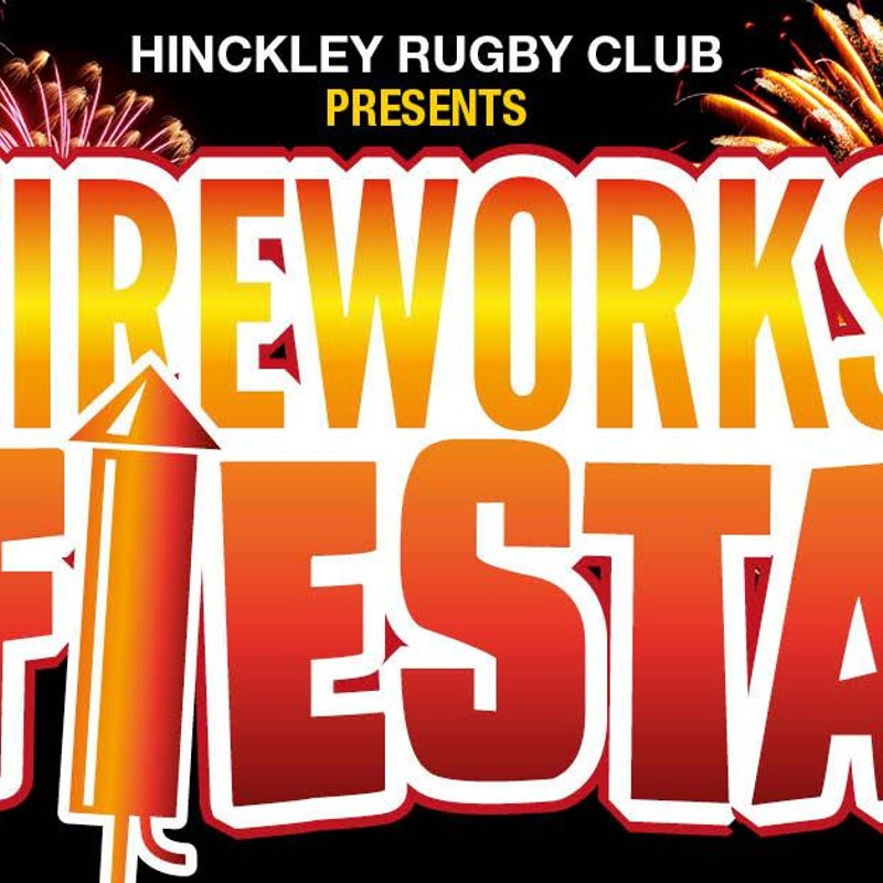 Hinckley Rugby Club Firework Fiesta - 5th November From 5pm