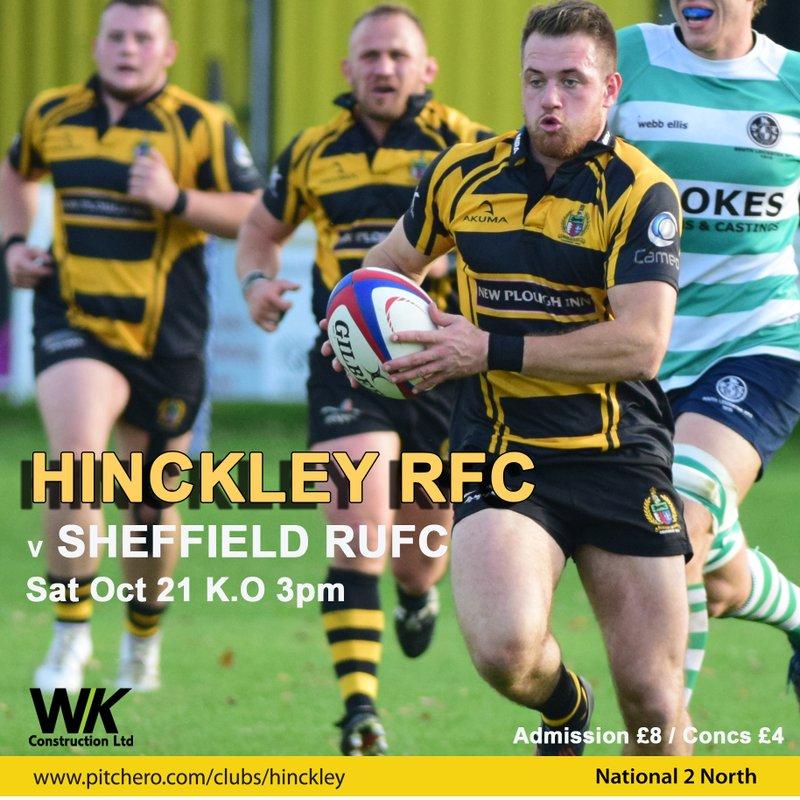 Hinckley vs Sheffield 21/10/2017