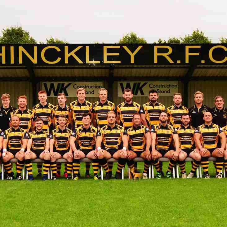 Hinckley 1st Team Fixtures 2018-19 Season