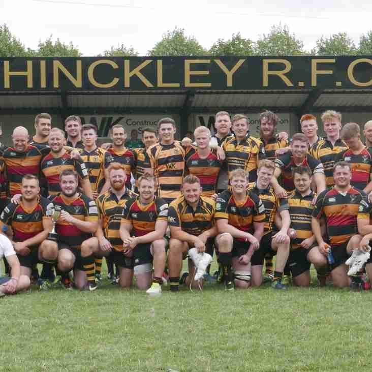 Hinckley 14 Cinderford 24