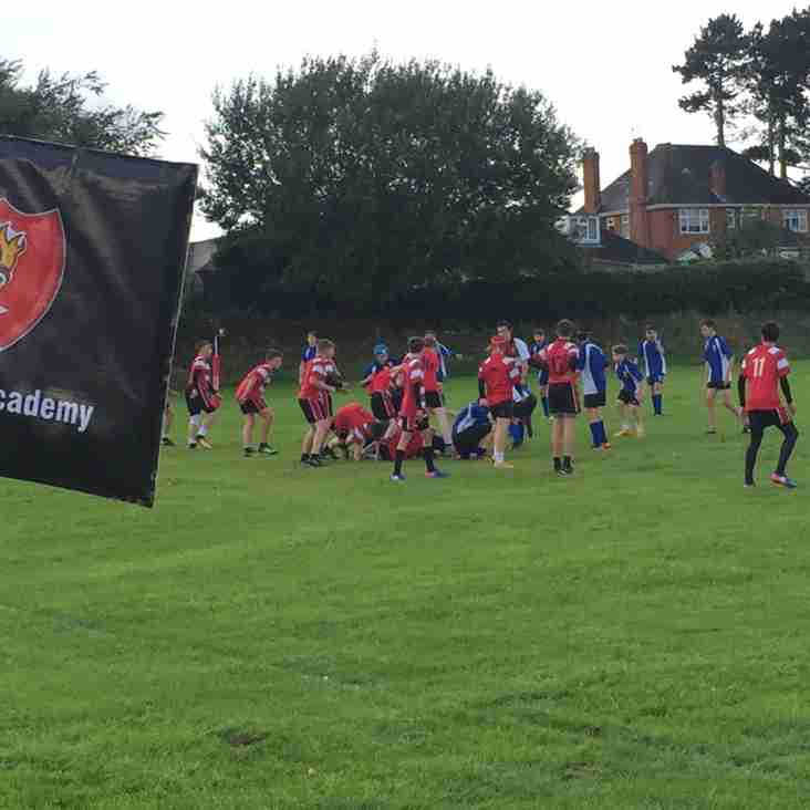 Hinckley Academy U15s Win at Leicester Road