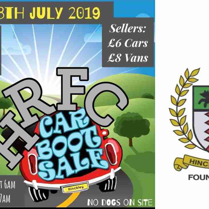 Car Boot Sunday @ Hinckley RFC 28th July