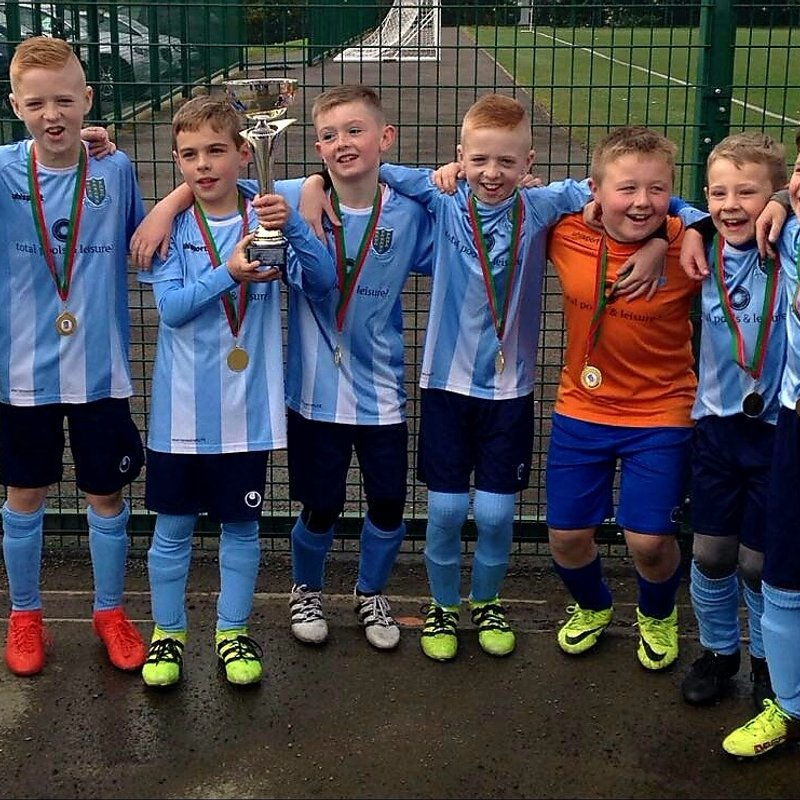 Success for Under-10's in Glentoran tournament