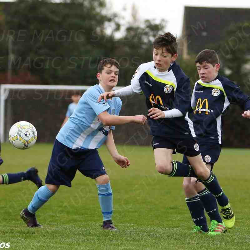 22/10/2016 - Under 13's v Sion Swifts