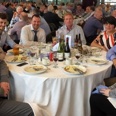 Youth Academy officials enjoy Corporate Dinner