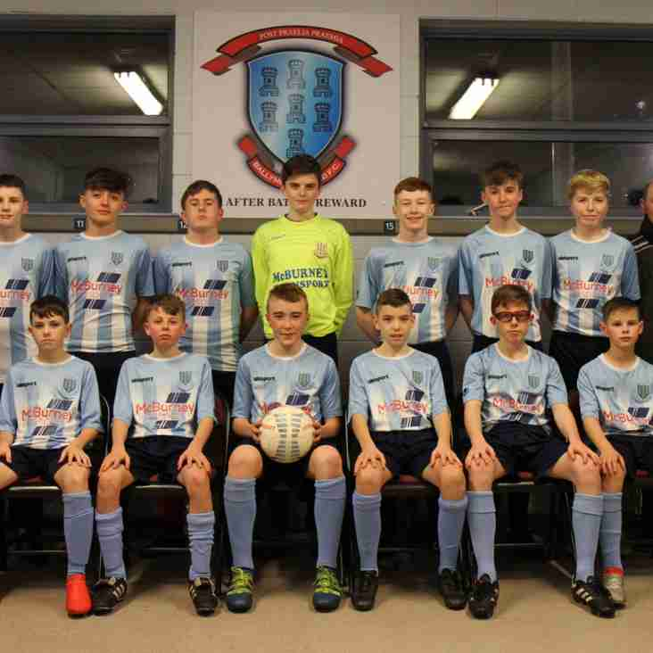 New Look Under-15's in Gerard Doherty Cup action