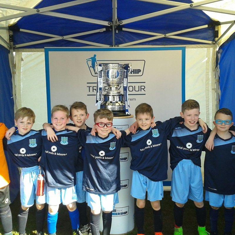 Under-10 'Town' full of team spirit against Portrush Colts