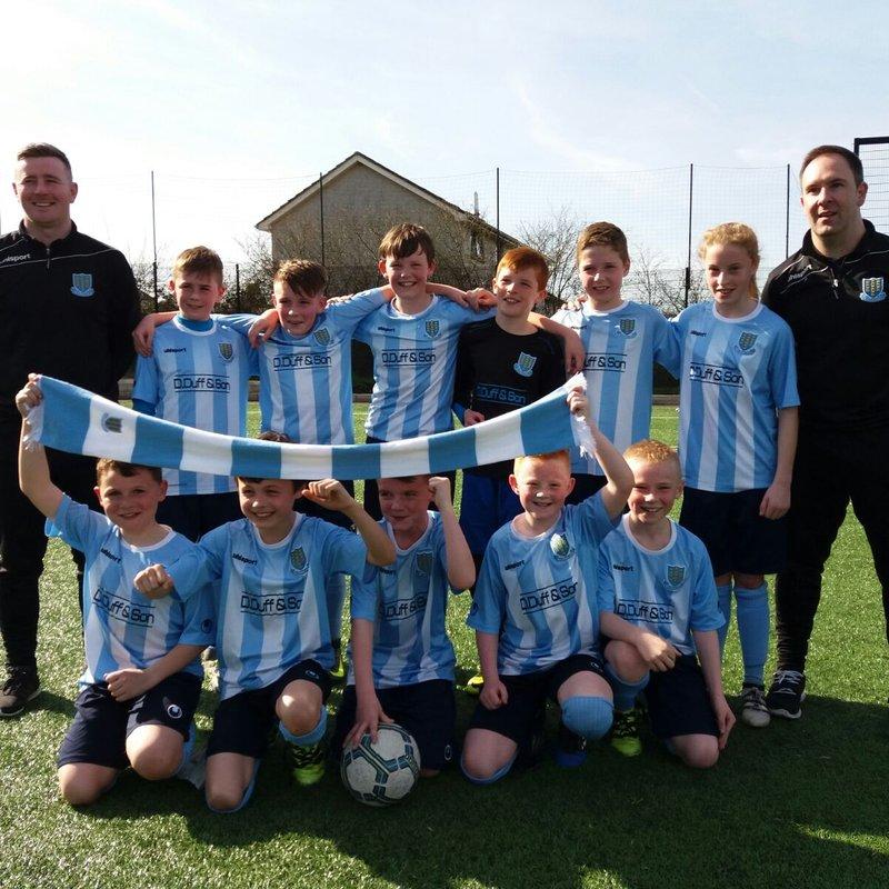 Spiers hat-trick seals Under-11's NIBFA Plate final berth