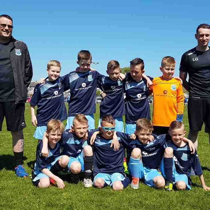 Under-10 'Town' star at Donaghadee Tournament
