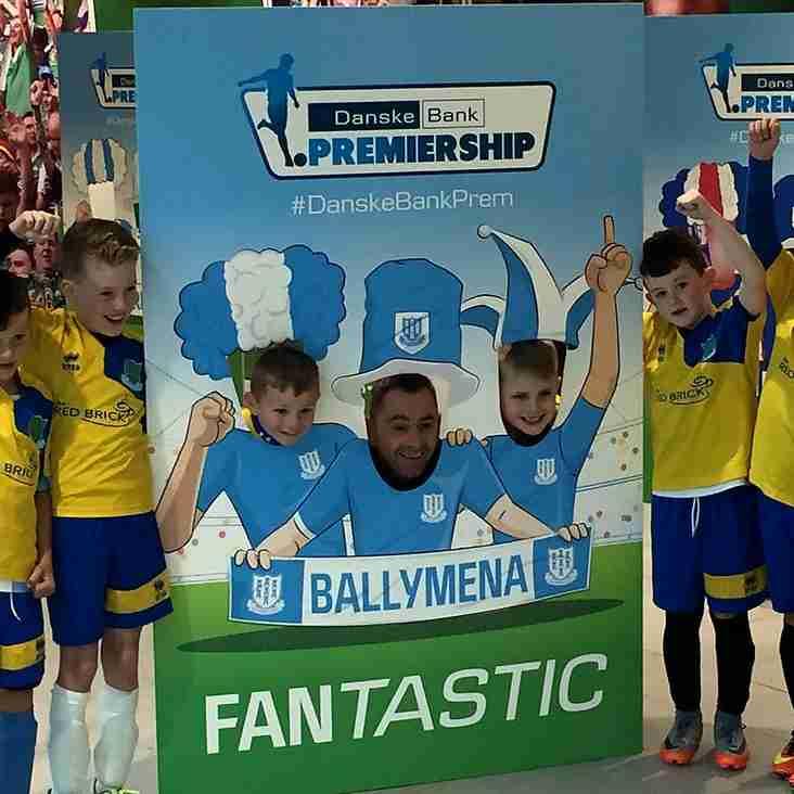 Under-9's star at NIFL Premiership Launch