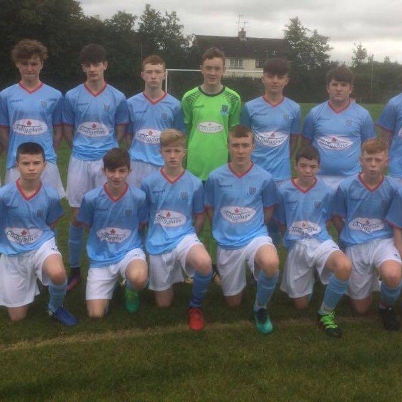 Millar heads Under-15's on their way to three points