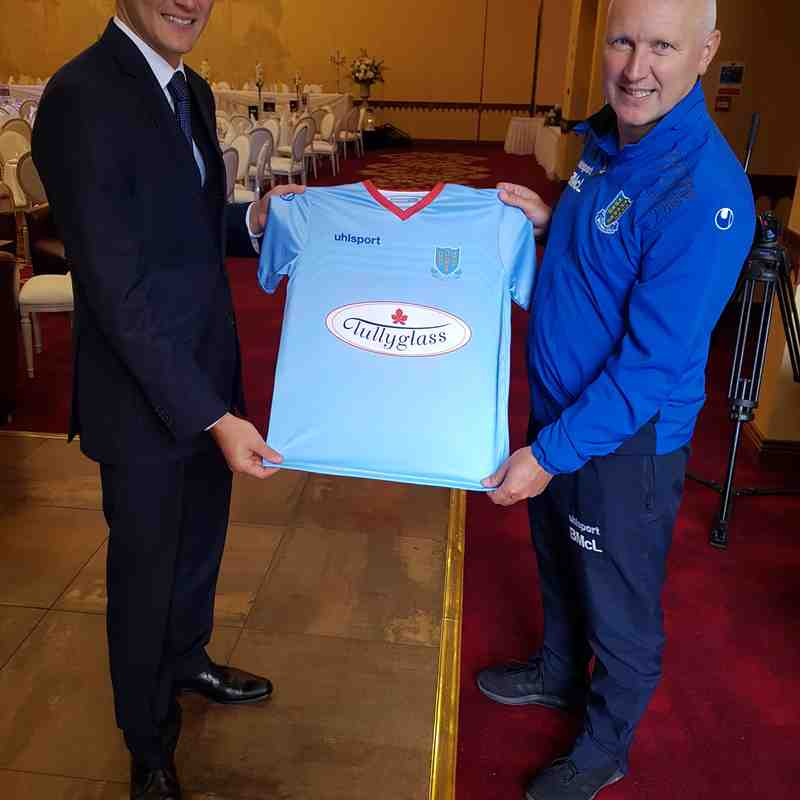 Tullyglass Sponsorship Launch 2017/18