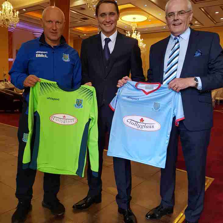 Tullyglass announced as new Youth Academy sponsor