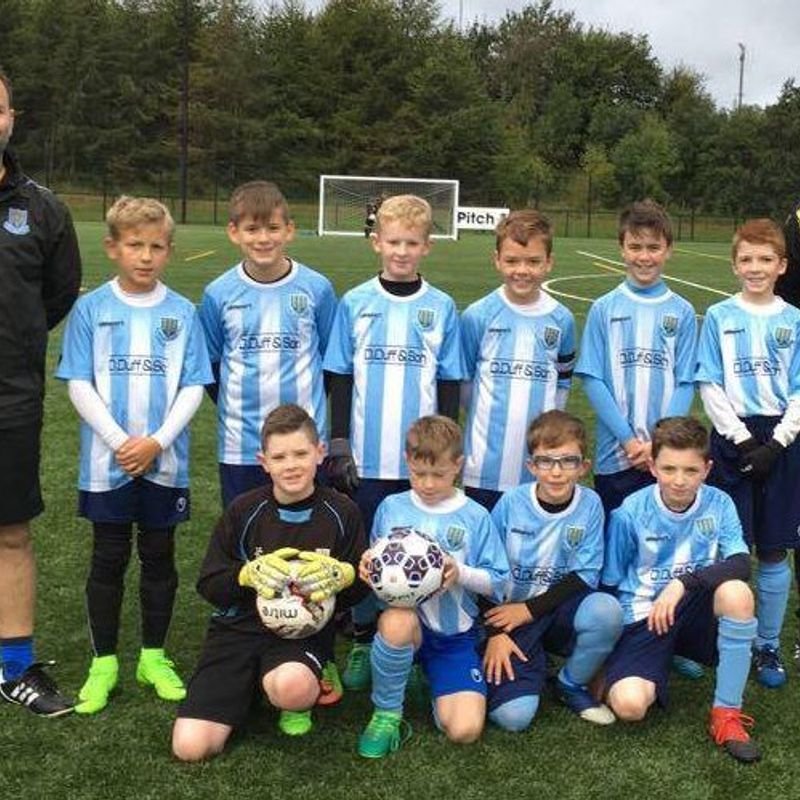 Under-12's continue their South Belfast League development