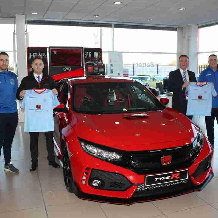 Under-11 Honda Sponsorship