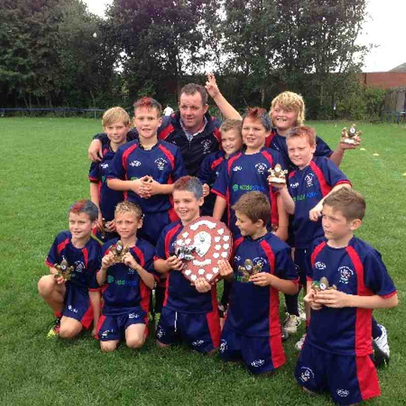 Lock Lane 2013 U10s winners