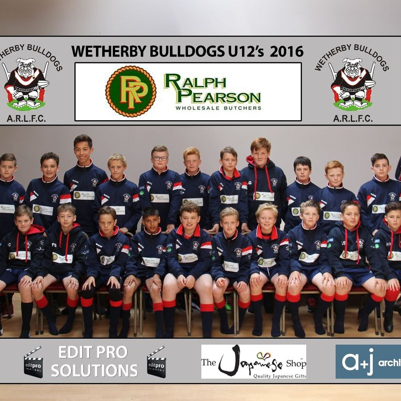 WB U12s team photo 2016
