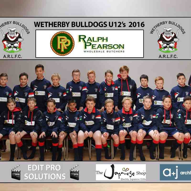 WB U12s team photo 2016