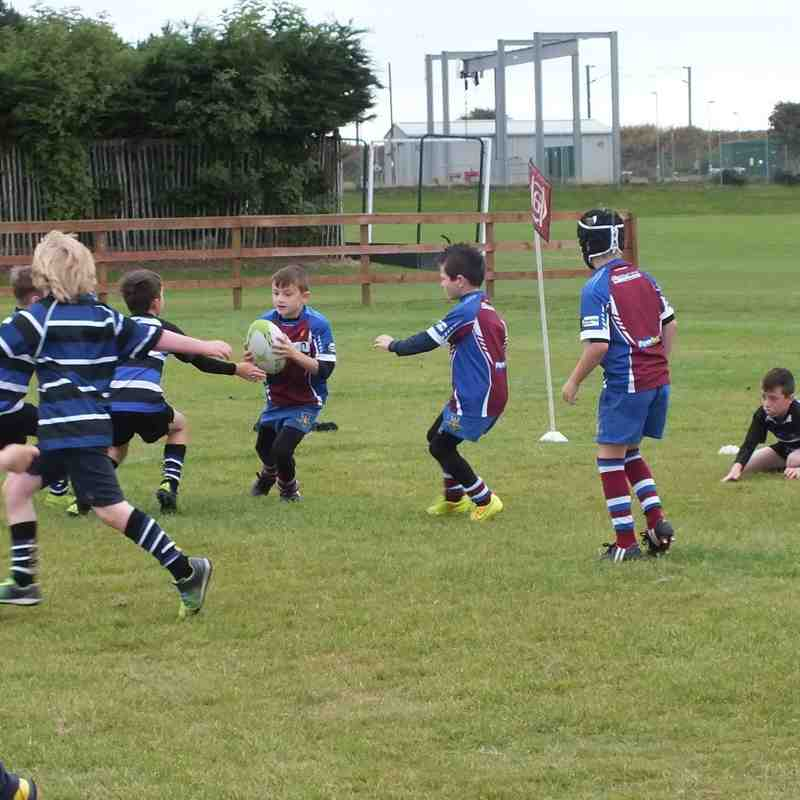 Micros and Minis versus Ardrossan 20 Sept 2015