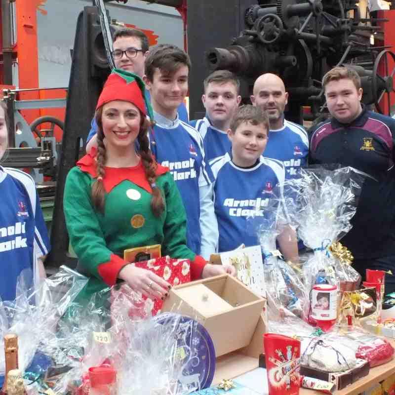 Santa's Helpers for North Ayrshire Foodbank