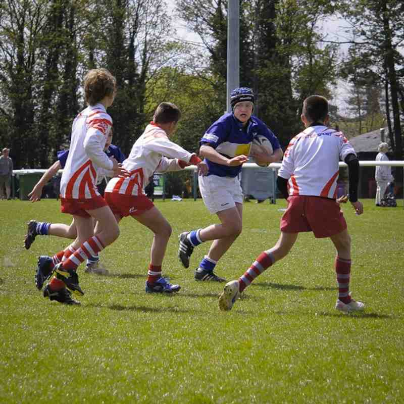 Under 12s at U13s Festival