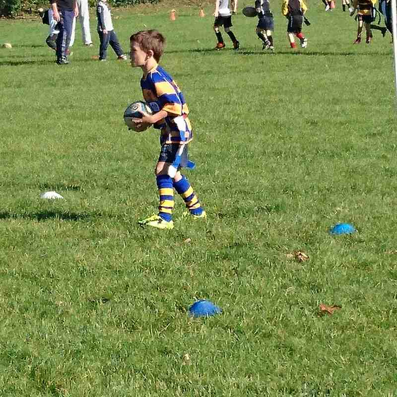 Clevedon vs Yatton under 7s