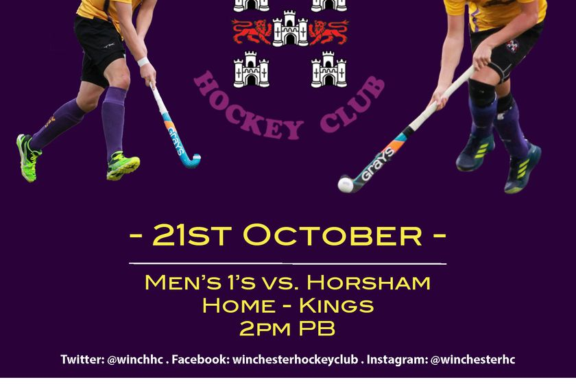 Mens 1st xi vs. Horsham
