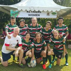 KL Tigers RFC Women Cup Champs at Jakarta 10s 2017 (6th May 2017)