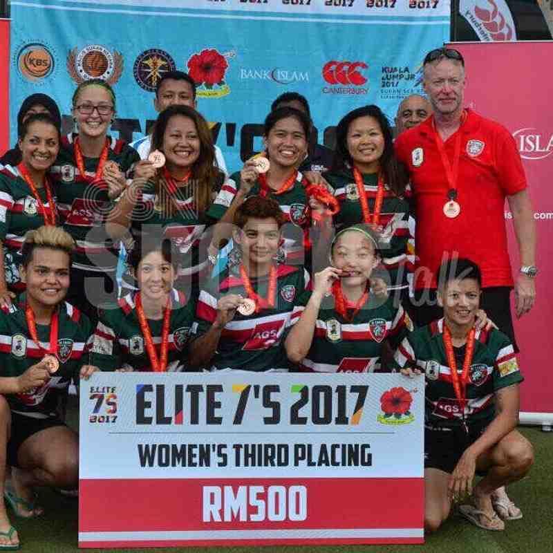 Elite 7s : Pre-SEA Games 16-17 July 2017 (3rd Placing)