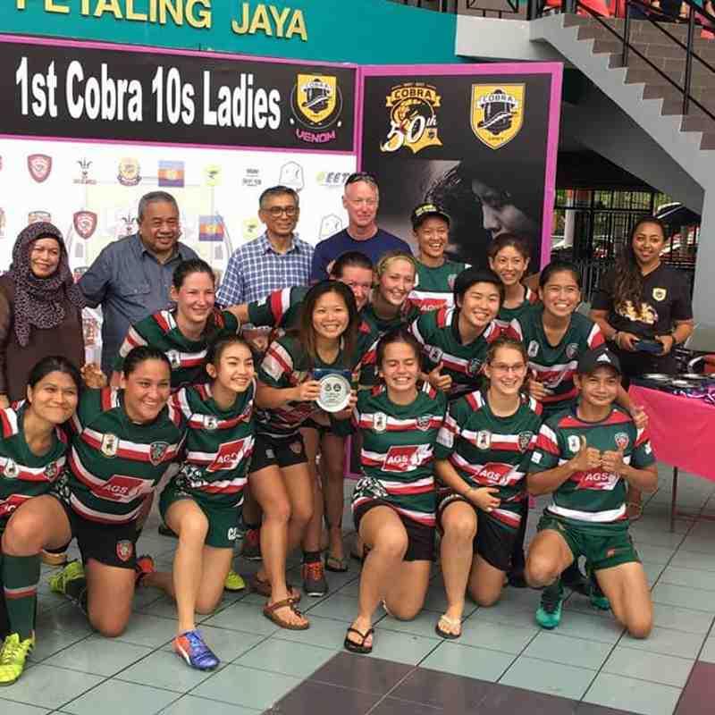 Cobra 10s Ladies 2017 4-5 Nov (Bowl runners-up)