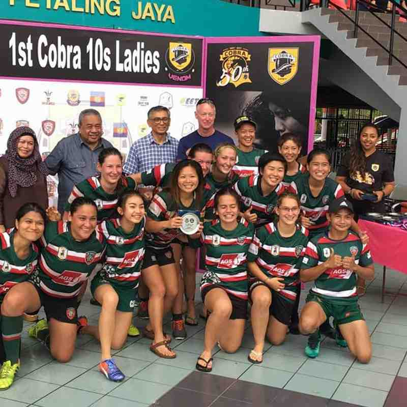 Cobra 10s Ladies 2017 4-5 Nov (Bowl runners-up)