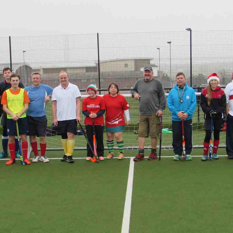 Christmas 2016 - Colts v Parents